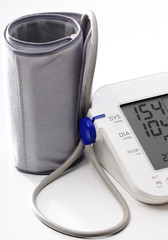 Blood pressure monitoring high BP (154/104mm)