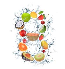 "Fresh fruit number ""8"""