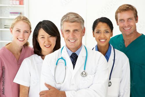 Portrait of medical professionals
