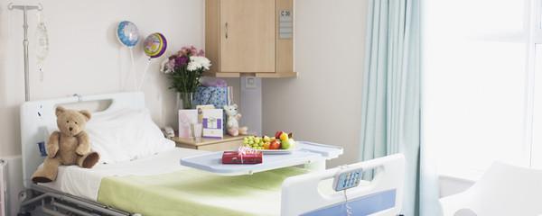 Empty room in children?s hospital