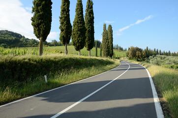 Via Consolare in Italia