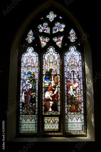Stained Glass Window Alcove