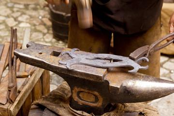 blacksmith forged iron smith anvil hammerman