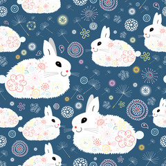 texture of the bunnies