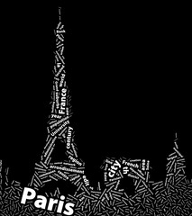 Paris (France) - Abstract Design Wallpaper