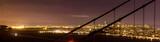 Downtown San Francisco, through the Golden Gate Bridge