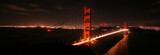Fototapety Golden Gate Bridge at Night