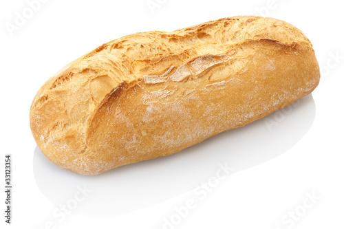 Plexiglas Brood Bread isolated