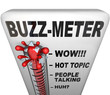 Buzz Meter Thermometer Measures Popularity