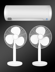 fan and air conditioning