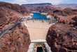 Aerial view of Hoover Dam - 33130991