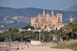 """Strand von Palma mit Kathedrale """"La Seu"""""""