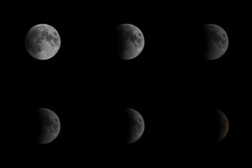Lunar Eclipse - June 16th 2011 - New Delhi, India