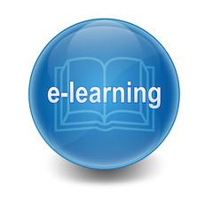 Esfera brillante e-learning