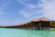 Water Villas in the Ocean. Welcome to the Paradise! Maldives.