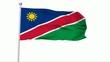 Fahne Namibia NTSC