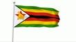 Fahne Simbabwe PAL