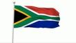 Fahne Südafrika NTSC