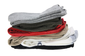 Stack of Men's Socks