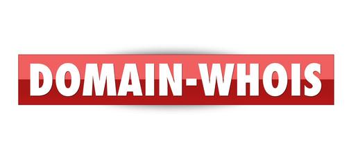 Domain-Whois (Domainregistrierung/Reservierung) Button