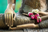 Fototapety buddha statue detail