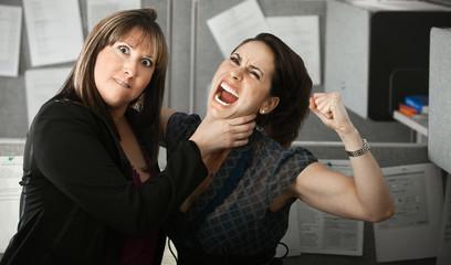 Two Women Quarelling