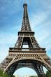XXL High Eiffel Tower in Paris, France