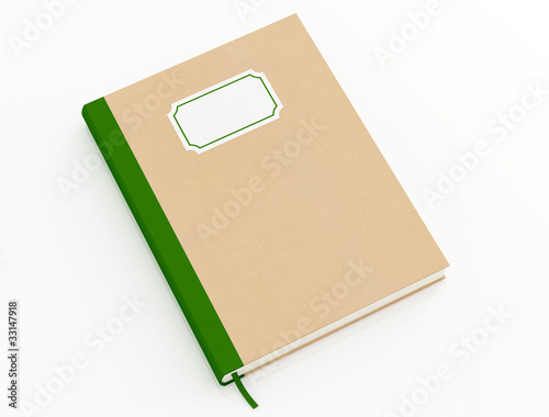 book with cardboard cover