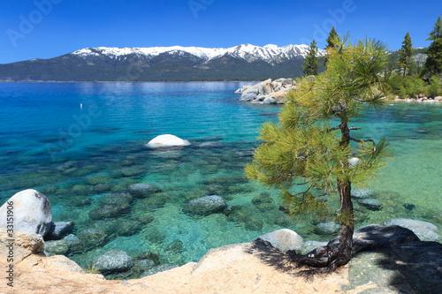 Canvas Grote meren Lake Tahoe