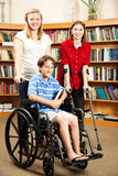 Kids in Library - Disabilities