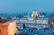 Budapest Parlament und Brüstung