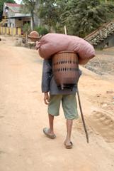 Bewohner des vietnamesischen Hochlands
