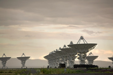 Very Large Array (Satellite Dishes from Contact)