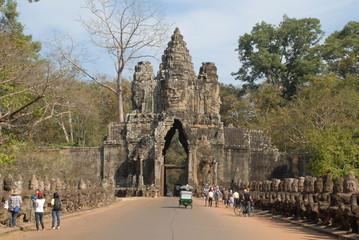Tor von Angkor Thom 1