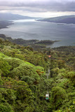 Rain Forest Tram over Lake Arenal, Costa Rica