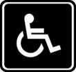 Behinderten Signet Toilette