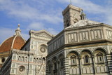 place du Duomo-Florence poster
