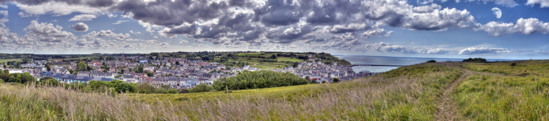 Panorama Port-En-Bessin