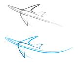 Fototapety Plane, airliner