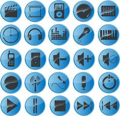 Multimediasymbole