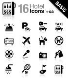 Fototapety Basic - Hotel icons