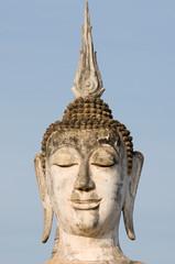 ancient buddha image statue at Sukhothai historical park