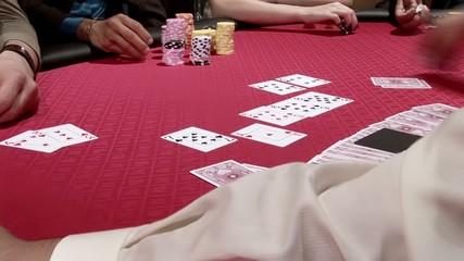 poker, il vincitore