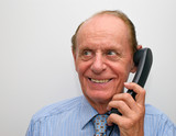 Senior am Telefon - Senior Phone Call