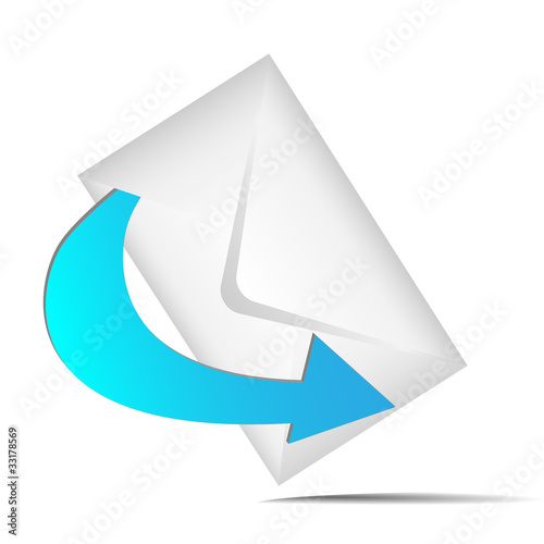 3d envelope icon
