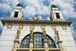 Art Nouveau Church, Golden Angels, Vienna
