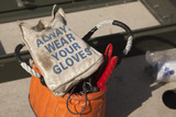 Always Wear Your Gloves Electricians Work Bag poster