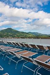 Mahé, Seychelles, pont bateau croisières