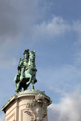 King Jose I on Commerce Square, Lisbon