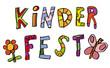 Schriftzug Kinderfest